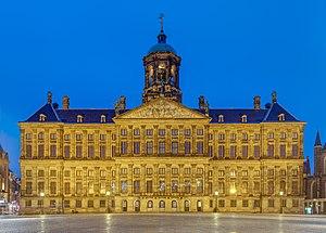 Royal Palace of Amsterdam - The Royal Palace Amsterdam in 2016