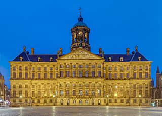 Royal Palace of Amsterdam palace in Amsterdam, Netherlands