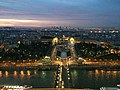 Palais de Chaillot from the Eiffel Tower, 75007 Paris, France - panoramio (68).jpg