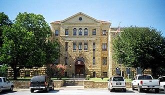 Palo Pinto County, Texas - Image: Palo pinto courthouse