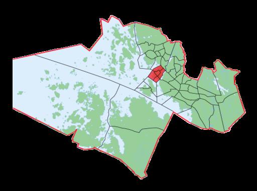 Palosaari-Brändö.Suuralue-Storområdet