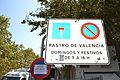 Panel informativo del Rastro en la Plaça de Lluís Casanova, Valencia.JPG