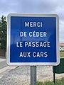 Panneau Merci Céder Passage Cars Montée Abîmes Crottet 2.jpg