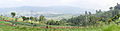 Panoramic view of valley below Candi Gedong Songo, 2014-06-16.jpg