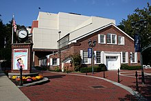 Paper Mill Playhouse entrance.jpg