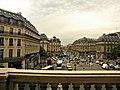 Paris, France. OPERA GARNIER. (Vedere din balconul Operei spre Place d'Opera si Avenue d'Opera)(PA00089004).jpg