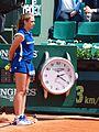 Paris-FR-75-open de tennis-25-5-16-Roland Garros-la pendule à Longines du Court Lenglen-01.jpg