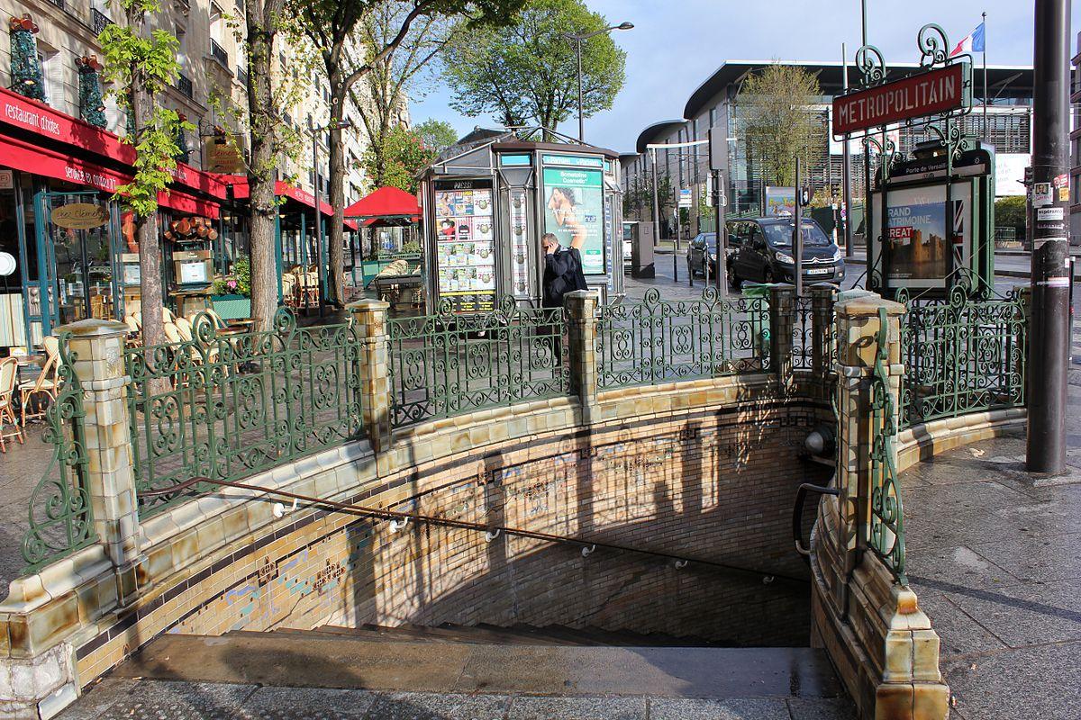 Porte de versailles m tro de paris wikip dia for Porte de versailles salon metro