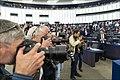 Parliament elects Ursula von der Leyen as first female Commission President (48300923557).jpg