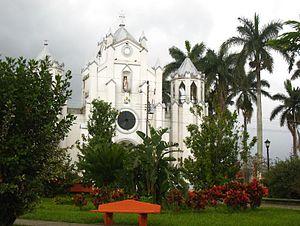 Santa Bárbara (canton) - Central Church, City of Santa Bárbara, Santa Bárbara Cantón