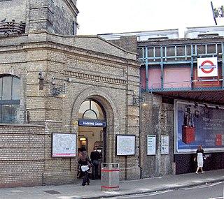 Parsons Green tube station London Underground station