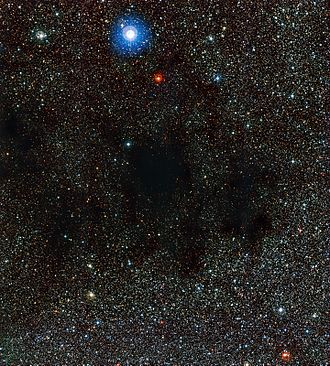 Coalsack Nebula - Image: Part of the Coalsack Nebula