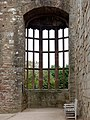 Partially restored window, The Hall, Raglan Castle - geograph.org.uk - 1531271.jpg