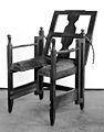 Parturition chair, Swiss, 18th century. Wellcome M0007448.jpg