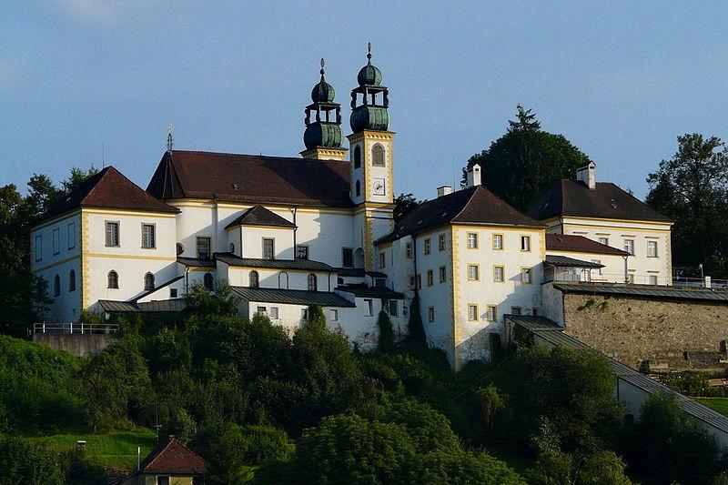 Maria Hilf monastery Passau, by Wikimedia