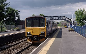 Patchway railway station - Almost all services at Patchway are provided by Great Western Railway, using a mixture of diesel multiple units.
