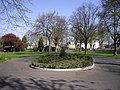 Pathway within Cottons Park Romford - geograph.org.uk - 1812289.jpg