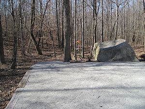 Patsy Cline - Patsy Cline aircraft crash site, Camden, Tennessee