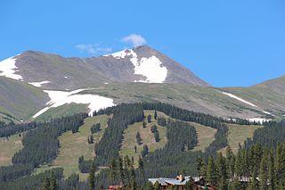 Peak 10 (Tenmile Range) mountain in United States of America