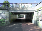 Pedestrian underpass of Sandow station 2.png
