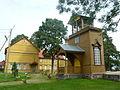 Peipsi Lake Old believer church - Raja vanausuliste palvela kellatorn 5861.JPG