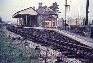 Pembroke and Tenby Railway - Pembroke station