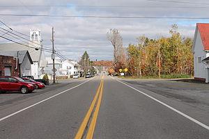 East Union Township, Schuylkill County, Pennsylvania - Pennsylvania Route 924 in Sheppton