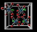 Pentacarbonylchlororhenium(I)-unit-cell-3D-balls.png