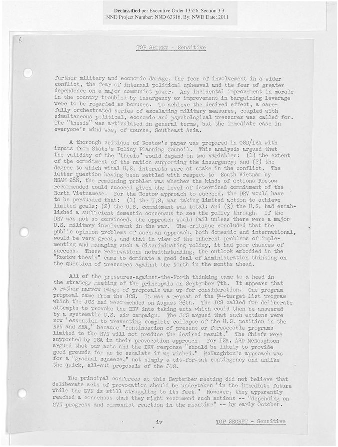 pentagon papers thesis