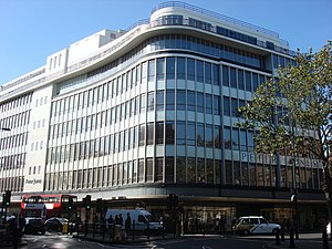 Peter Jones (department store) - View of the building.