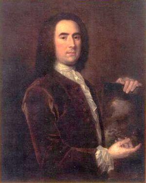 Peter Monamy - Peter Monamy, by Thomas Stubley, c 1730