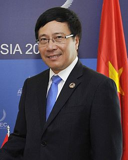 Phạm Bình Minh Vietnamese politician; Deputy Prime Minister of Vietnam