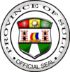 Official seal of Sulu Province