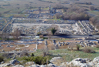Philippi ancient city in eastern Macedonia, in the Edonis region