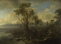Philips Wouwerman - A Stag Hunt (c.1665).jpg