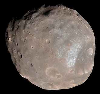 Moons of Mars - Image: Phobos colour 2008