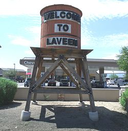The Laveen Village welcoming Water Tower