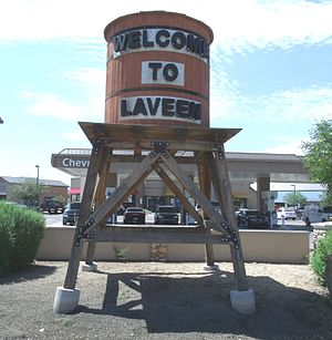 Laveen, Arizona - The Laveen Village welcoming Water Tower