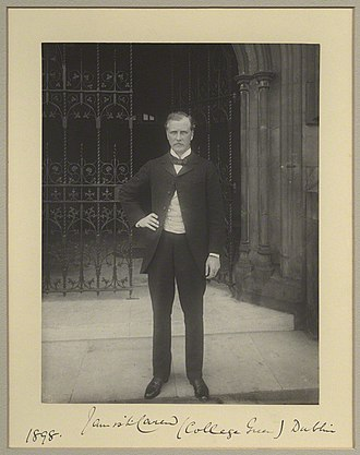 James Laurence Carew - Image: Photograph of James Laurence Carew