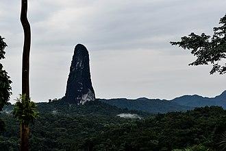 Parque Natural Obô de São Tomé - Image: Pico Cao Grande