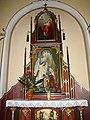 Piekary Śląskie, Kościół Matki Bożej Wspomożenia Wiernych w Dąbrówce Wielkiej 07.JPG