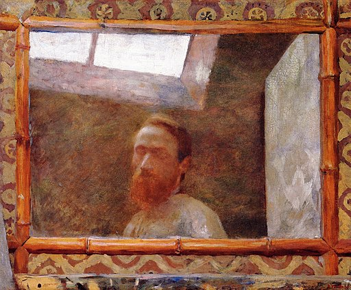 Pierre Bonnard Self-Portrait in a Bamboo Mirror