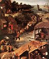 Pieter Bruegel the Elder - Netherlandish Proverbs (detail) - WGA3369.jpg
