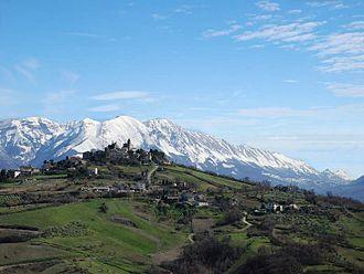 Pietranico - Panoramic view