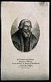 Pietro Andrea Mattioli. Stipple engraving by A. Tardieu. Wellcome V0003918.jpg