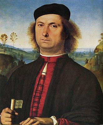 Portrait of Francesco delle Opere - Image: Pietro Perugino cat 37