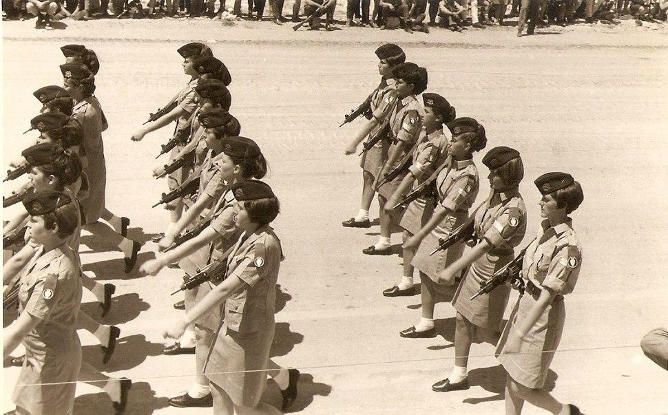 PikiWiki Israel 12768 IDF parade in Jerusalem in 1968