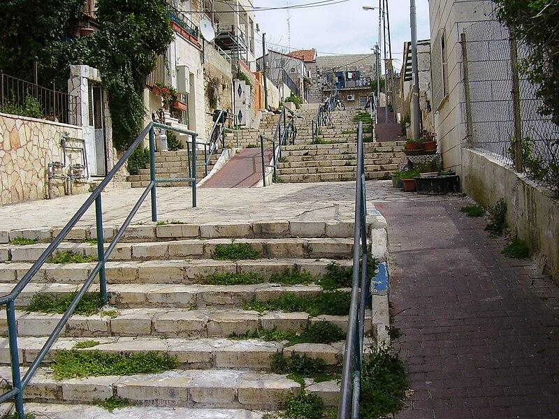 File:PikiWiki Israel 3988 stairs street jerusalem.jpg