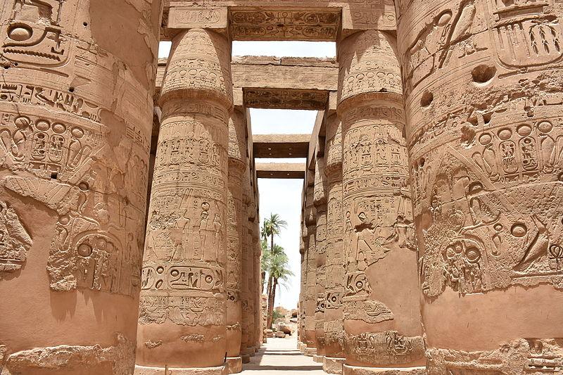 大柱式大厅、神龛大厅 via www.egypt.travel
