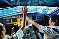 Pilots at work on Thai Smile Airbus A320.jpg